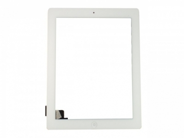 iPad 2 Glas Touchscreen Digitizers Displayglas WEISS