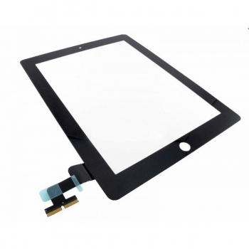 iPad 2 Glas Touchscreen Digitizers Displayglas Schwarz