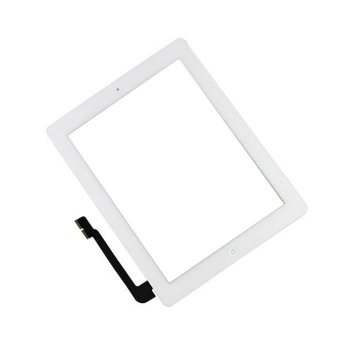iPad 3 / iPad 4 New Glas Displayglas Digitizers Touchscreen WEISS