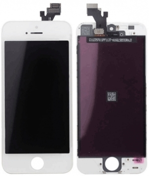 iPhone 5 LCD Display Ersatz Display modul weiss
