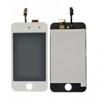 iPod 4G 4.Gen LCD Ersatz Display Modul LCD Digitizers Glas Weiss