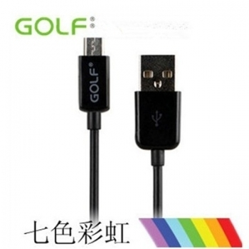 Original GOLF MicroUSB Datenkabel Schwarz