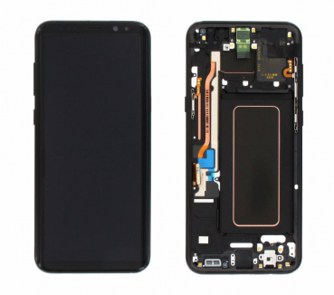 Samsung Galaxy S8 Plus LCD Display G955F LCD Schwarz S8+