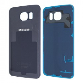 Original Samsung Galaxy S6 Glas Backcover / Akkudeckel Schwarz
