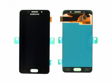 Original Samsung A310 ( SM-A310F 2016 ) LCD Display Schwarz